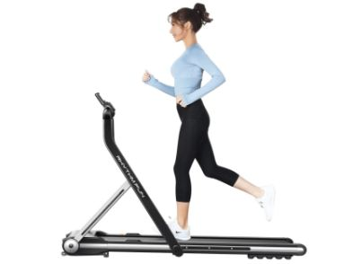 RHYTHM FUN Treadmill Folding Running Treadmill