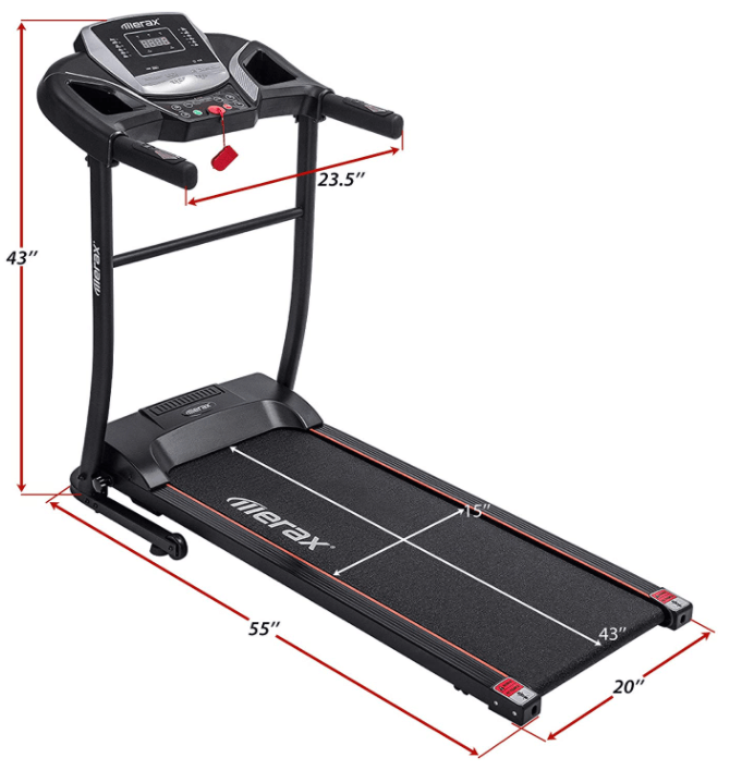Merax Electric Folding Home Treadmill
