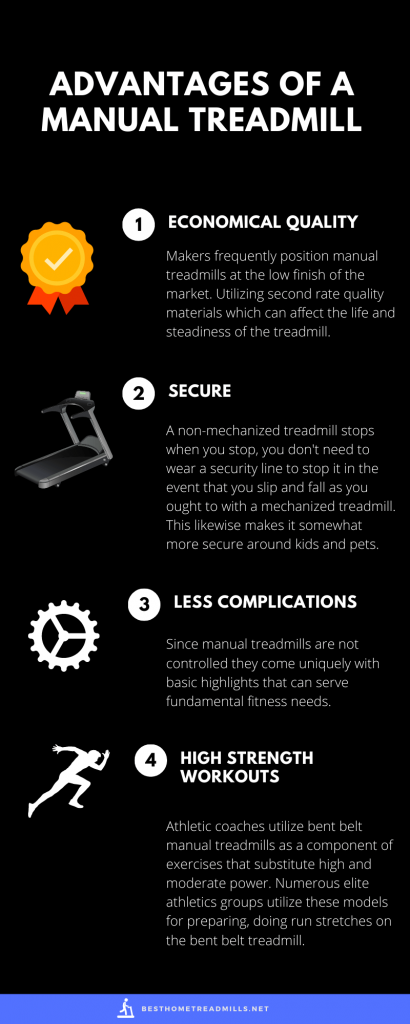 Advantages of a Manual Treadmill - Infographics